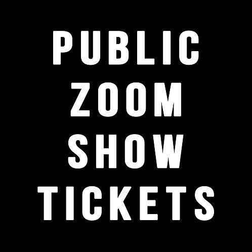 Mario's Punk Rock Magic Zoom Show • $25 PER HOUSEHOLD