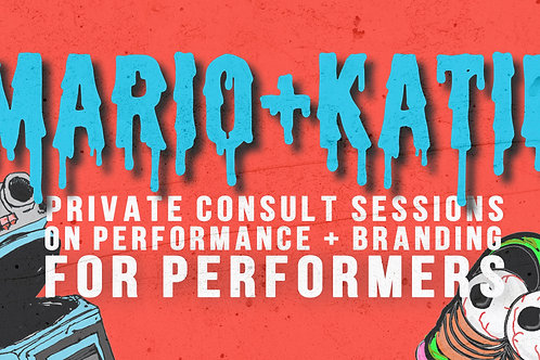 Professional Consult Session FOR PERFORMERS