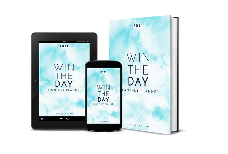 Win The Day Daily Planner