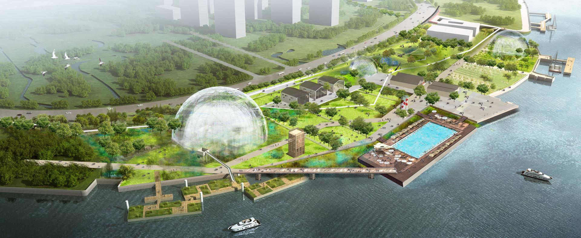 Agence Ter_21km Shanghai_ projet lauréat