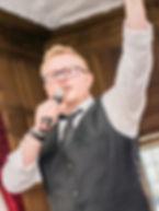 Adam Lacey Singing Waiter
