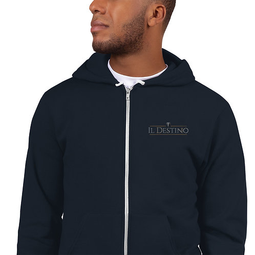 Il Destino Embroidered Hoodie sweater