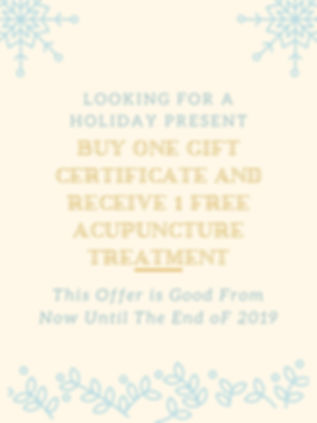 buy one gift certificate and receive 1 f