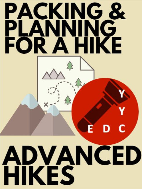 Advanced Hikes: Packing and Planning