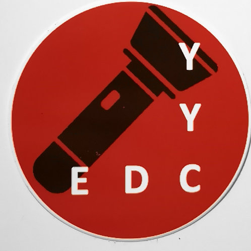 EDC YYC Logo Sticker