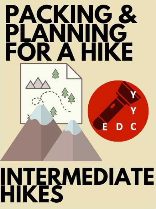 Intermediate Hikes: Packing and Planning