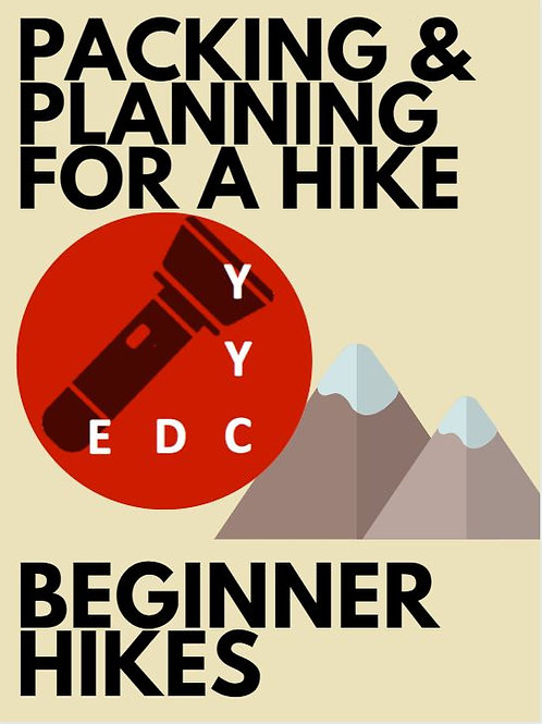 Beginner Hikes: Packing and Planning