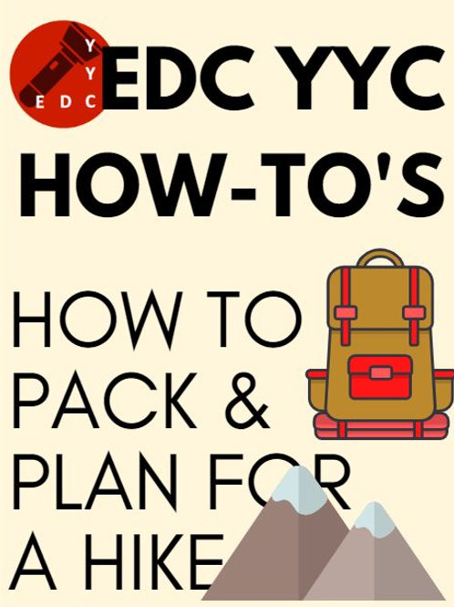Prepare and Plan for any hike