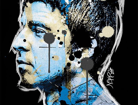 Noel Gallagher Graffiti  Poster Art Print