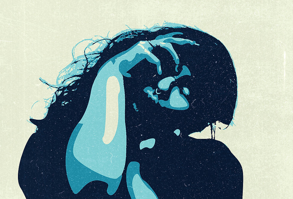 The Amazons Poster Art Print Black Magic Illustration