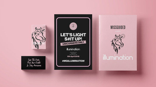 Missguided Event Branding