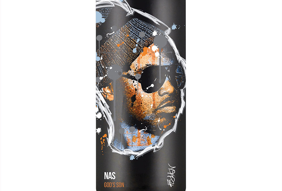 Nas Hip-Hop Spray Can Art Print