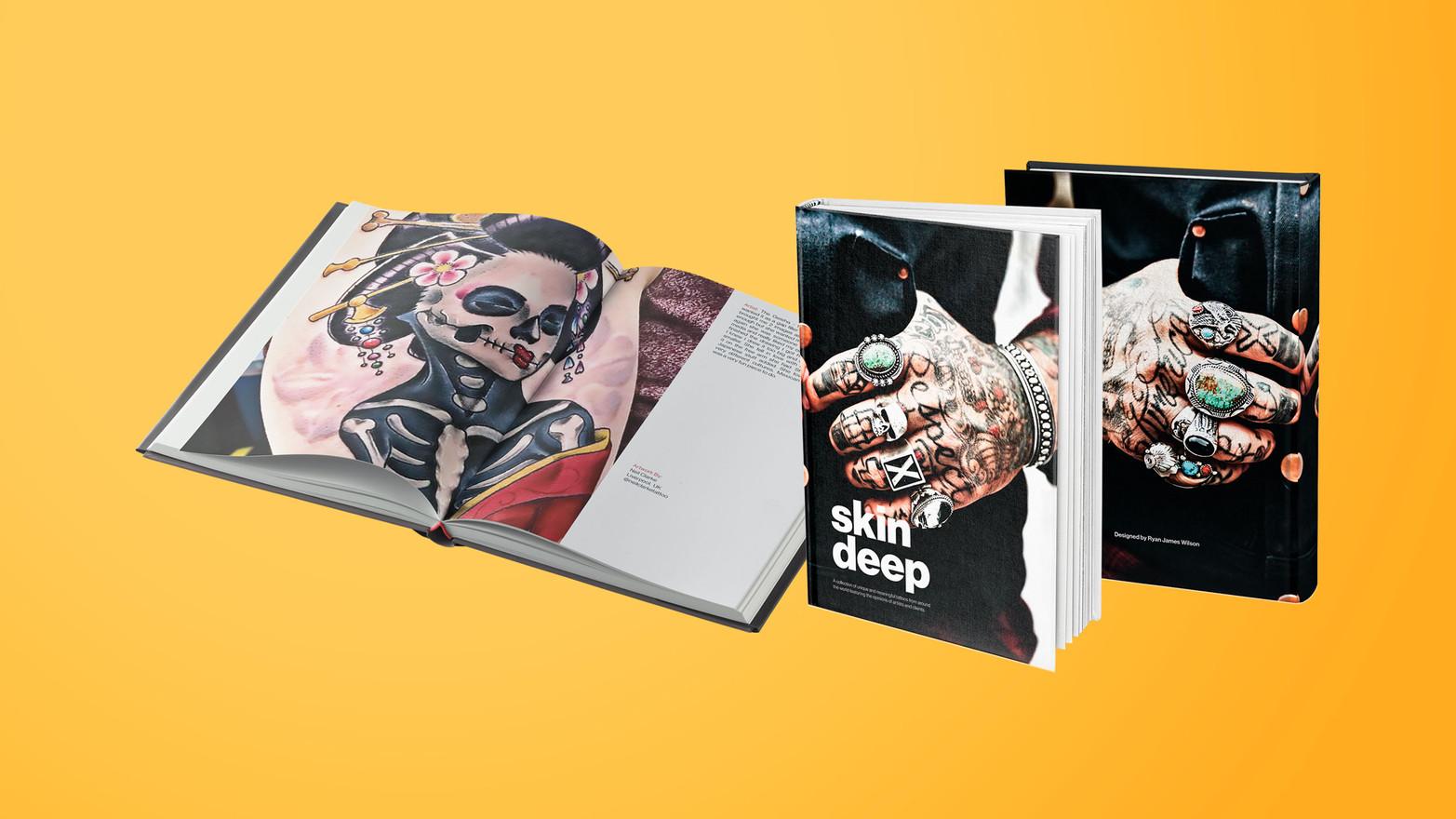 Skin Deep Tattoo Book