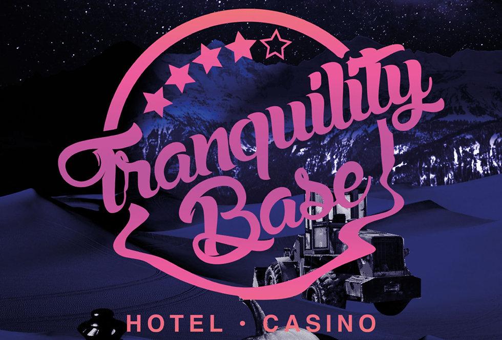 Arctic Monkeys Poster Art Alex Turner Print Tranquility Base Hotel & Casino
