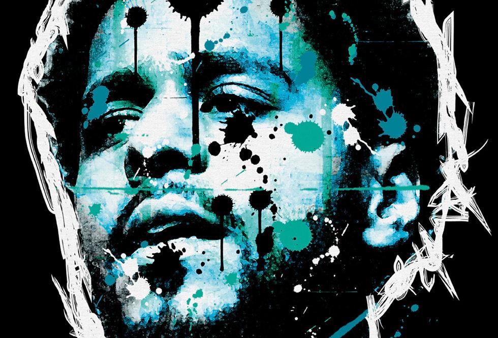 J.Cole Hip-Hop Graffiti Street Art Print