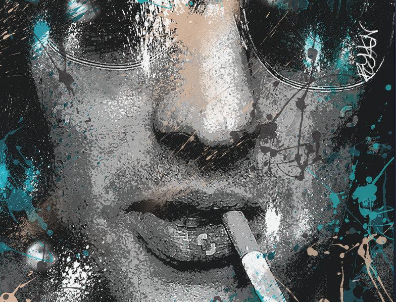 Richard Ashcroft The Verve Poster Art Print