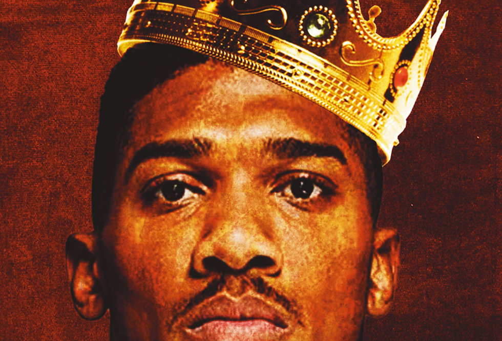 King AJ Anthony Joshua Artwork