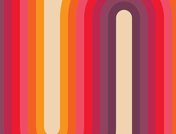 Retro Lounge Hamburg Bends 60s Love Poster Art Print