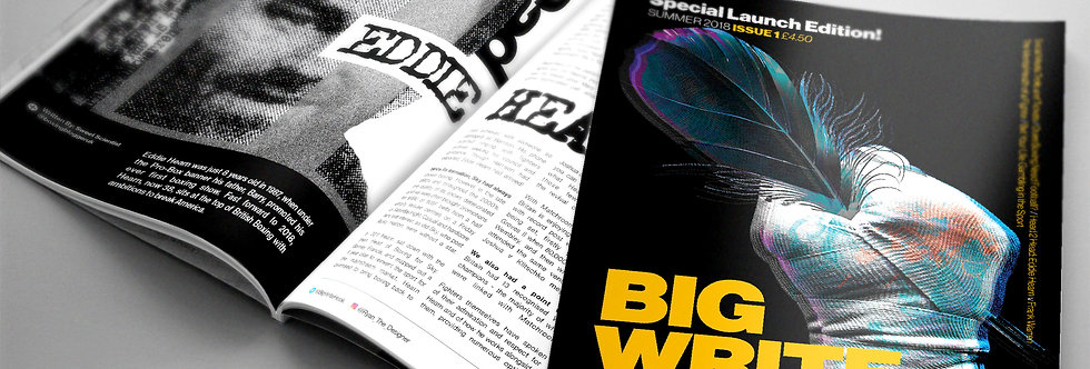 Big Write Hook Magazine