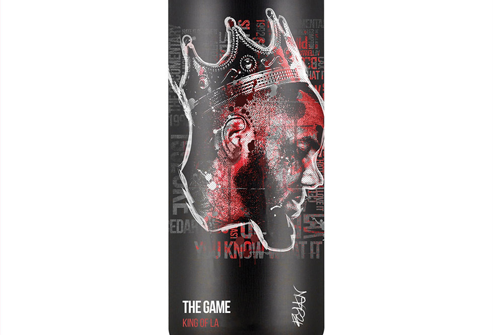 The Game Hip-Hop Spray Can Art Print