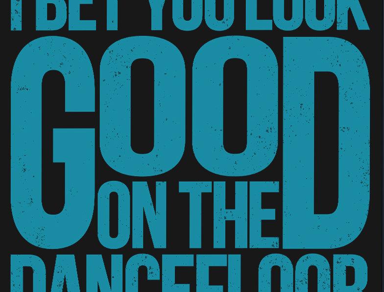 I Bet You Look Good On The Dance Floor Arctic Monkeys Poster Art Print