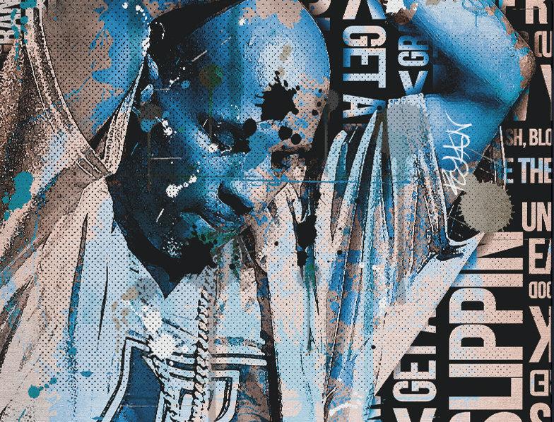 X Poster DMX Tribute Poster Art Print Ruff Ryders Anthem