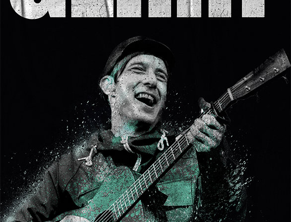 Gerry Cinnamon The Bonny Graffiti Poster Art Print