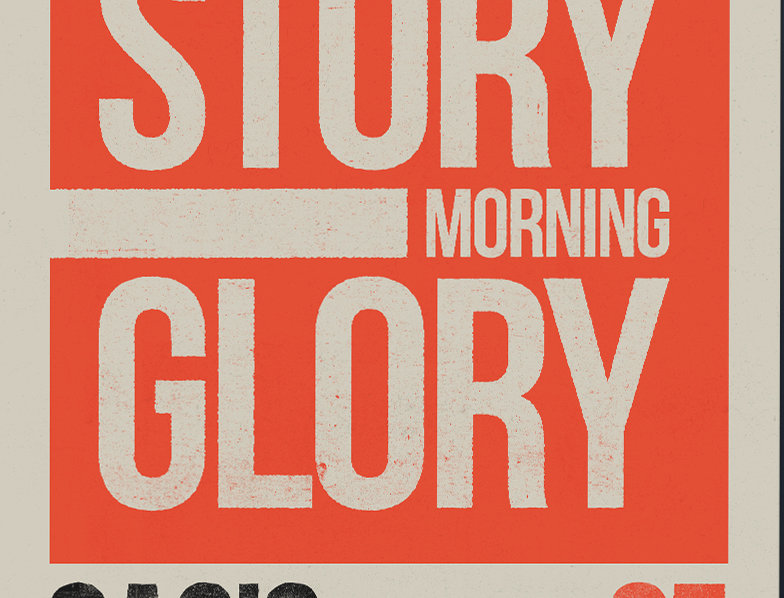 What's The Story Morning Glory Swiss Poster Art Print