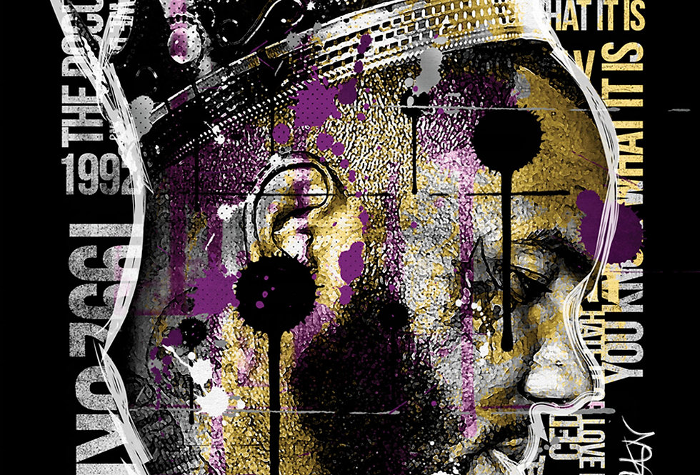 Game King Of LA Lakers Art Print
