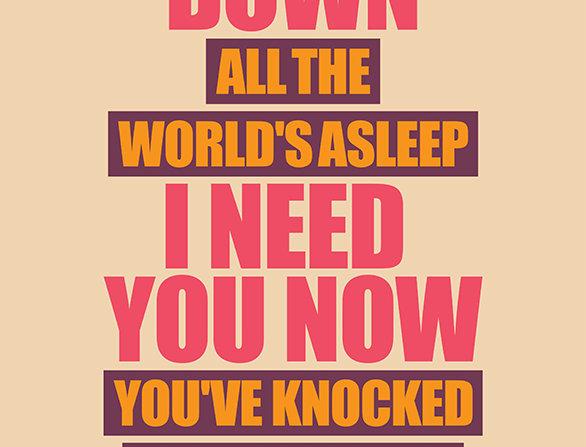 Oasis Slide Away Poster Art Print
