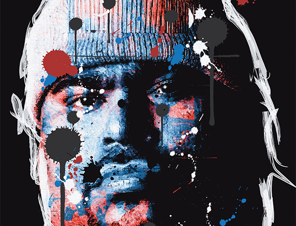 Big Pun Graffiti Poster Art Print