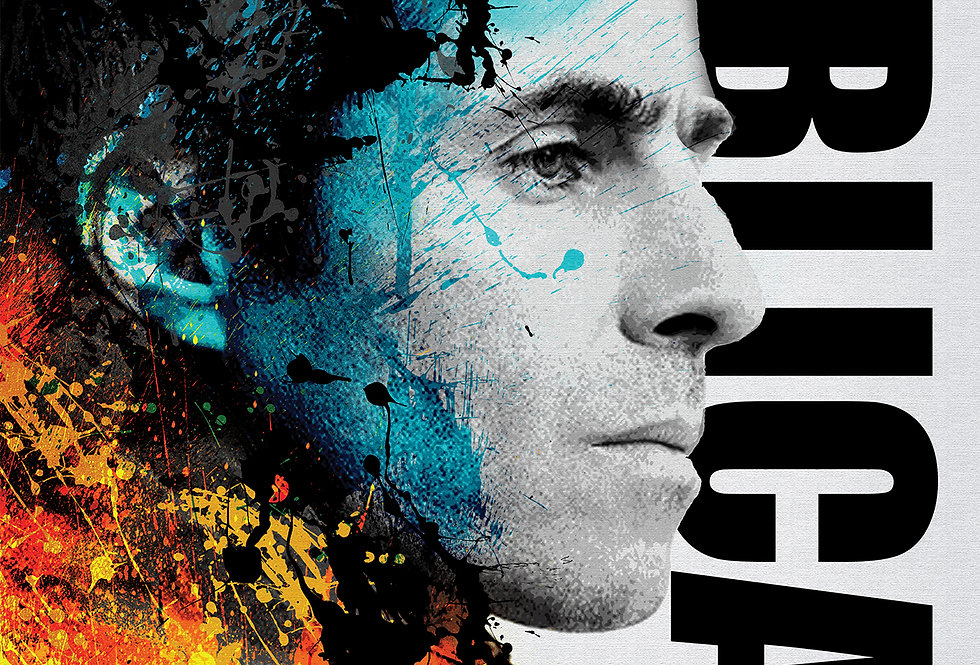Liam Gallagher Biblical Oasis Poster Art Print