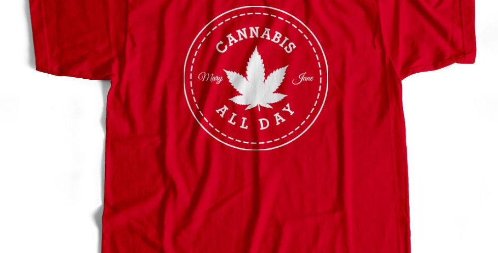 Cannabis All Star Weed Strain Tee & Hoody