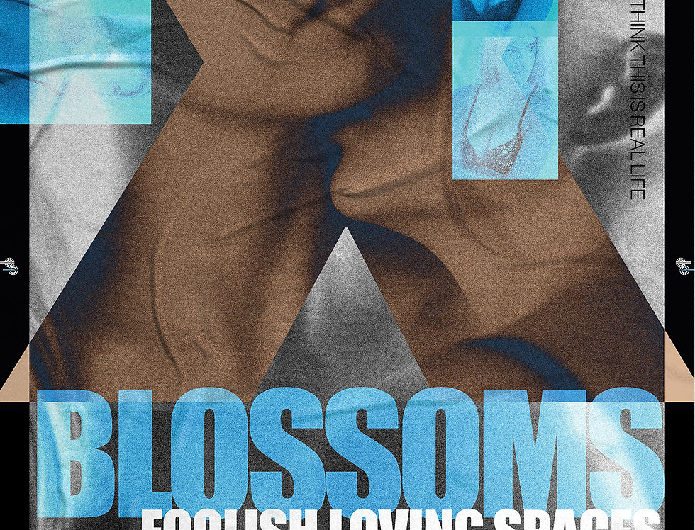 Blossoms Gig Poster Art Print Foolish Loving Spaces Artwork