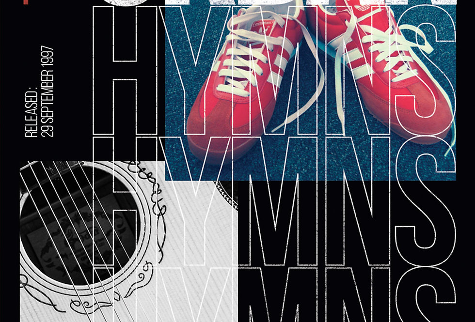 The Verve Urban Hymns 90's Britpop Art Print