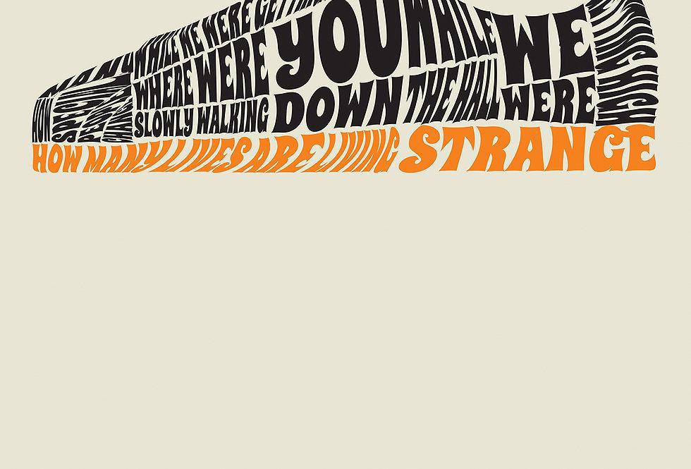 Champagne Shoepernova Oasis Poster Art Print