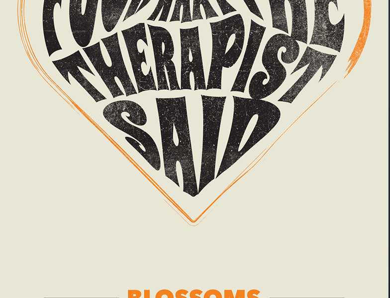 Fuck What The Therapist Said Blossoms Poster Art Print