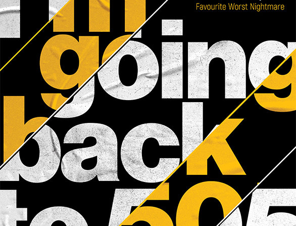 505 Arctic Monkeys Hacienda Poster Art Print