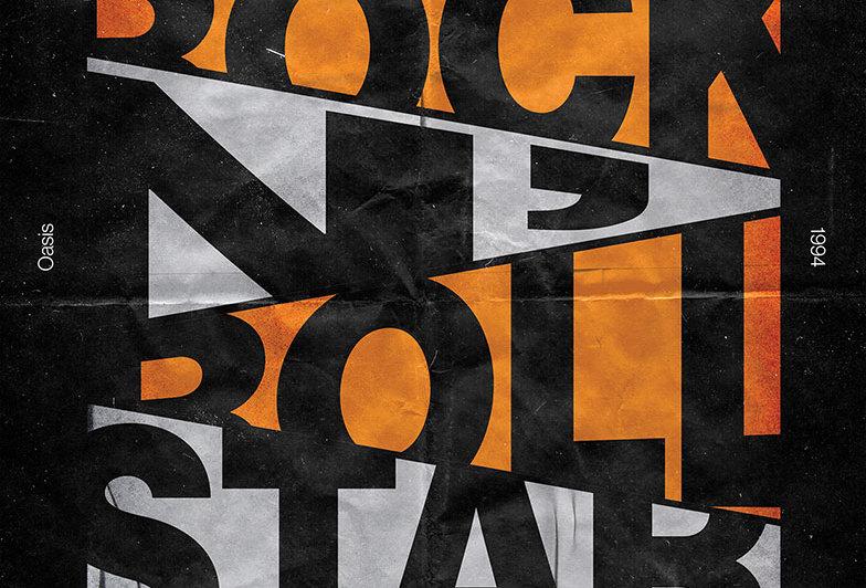 Definitely Maybe Oasis Britpop Poster Art Print