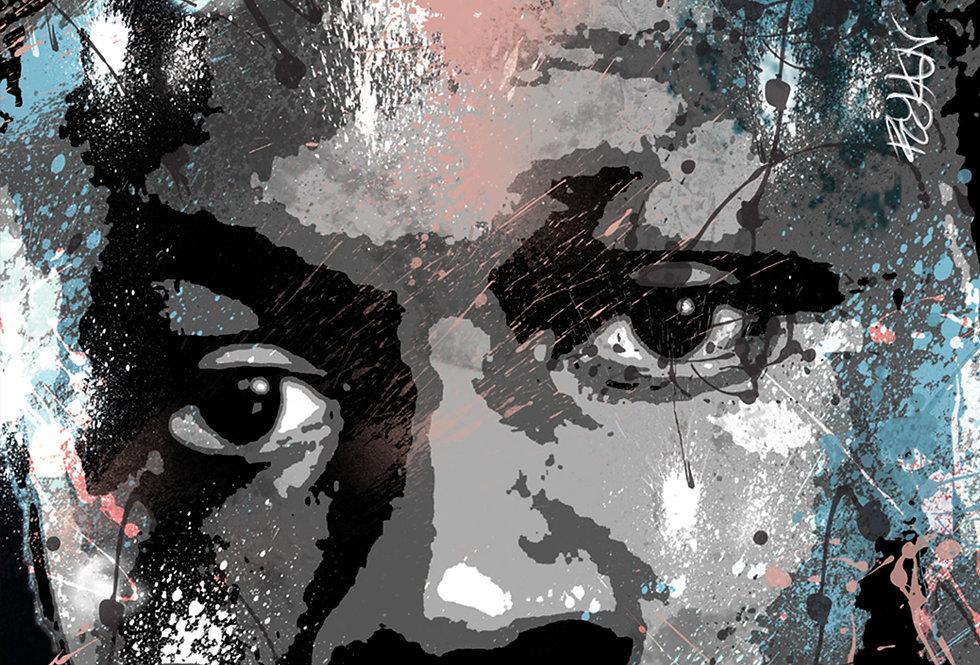 Heavy Is The Head Stormzy Graffiti Poster Art Print