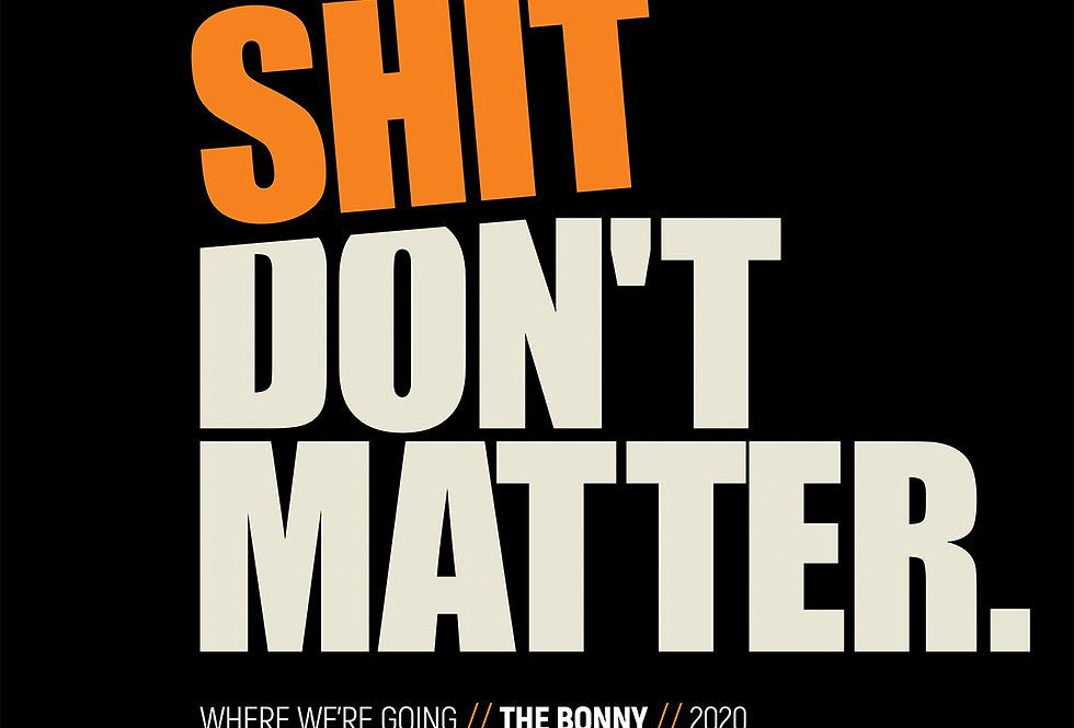Gerry Cinnamon Where We're Going The Bonny Swiss Grunge Poster Art Print