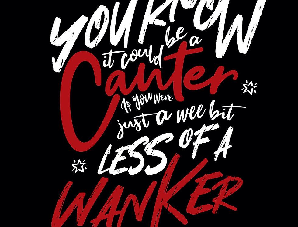 Gerry Cinnamon Canter Lyrics Poster Art Print The Bonny Album