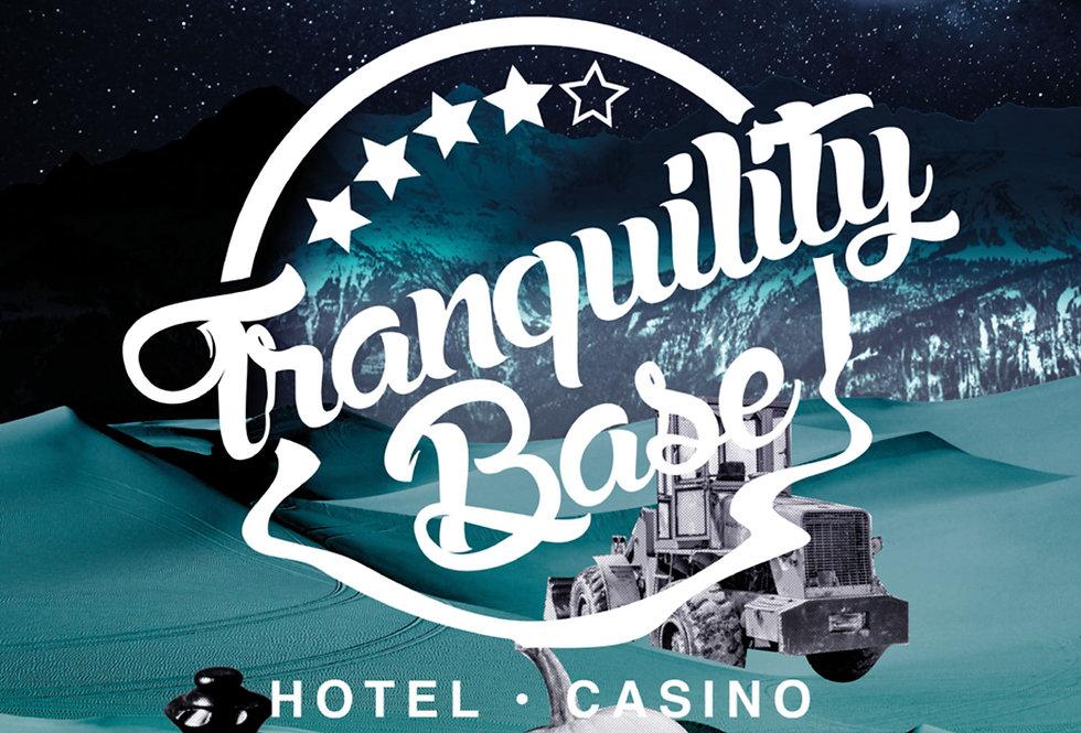 Arctic Monkeys Poster Art Tranquility Base Hotel & Casino Artwork Green