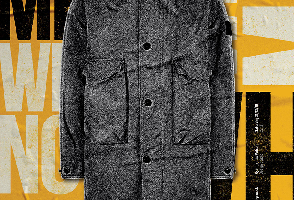 Liam Gallagher Why Me? Why Not Parka Art Print