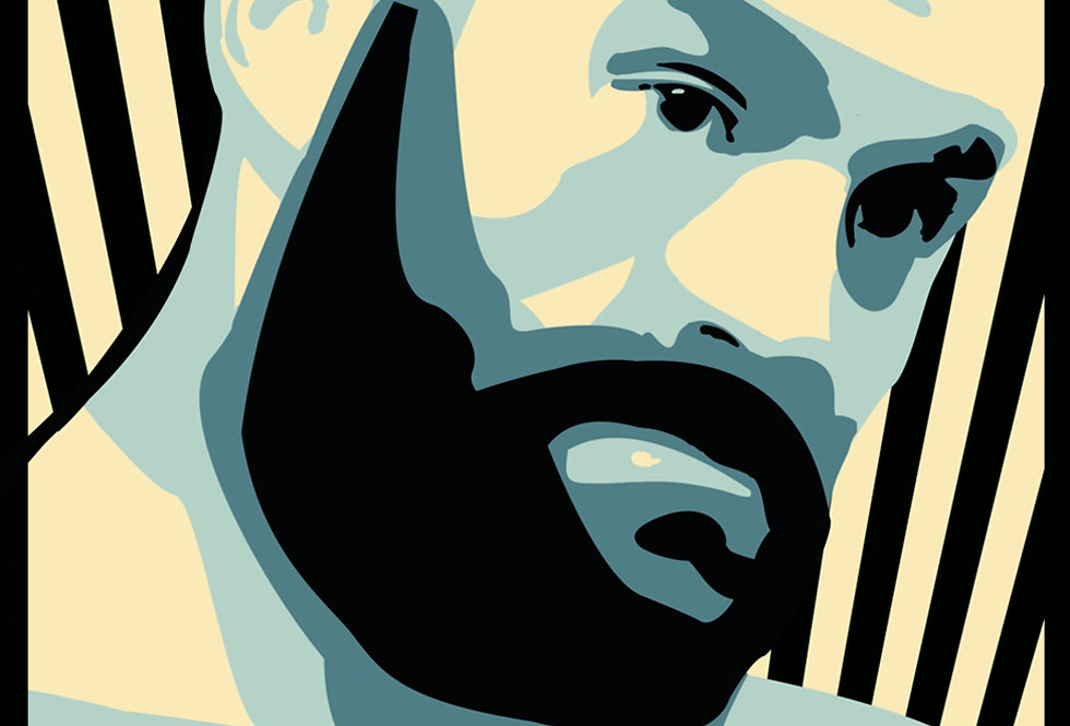 Tyson Fury Vector Art Print
