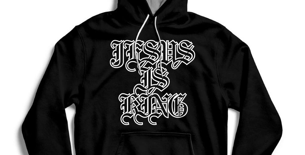 Old English Jesus Is King Kanye Hip-Hop T-shirt / Hoody / Street Hoodie