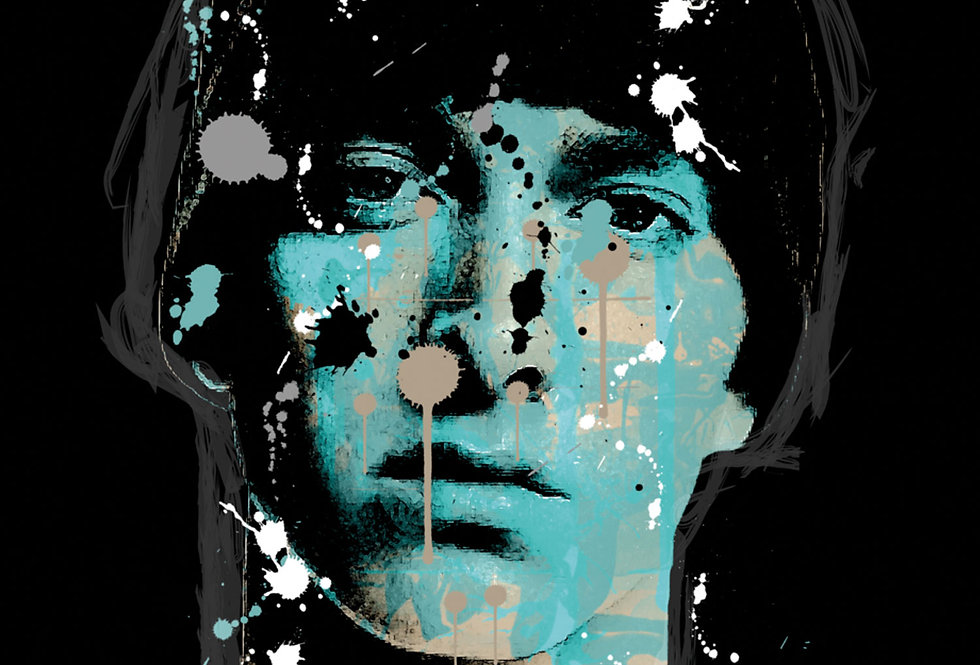 Eminem Poster Art Print Slim Shady Graffiti