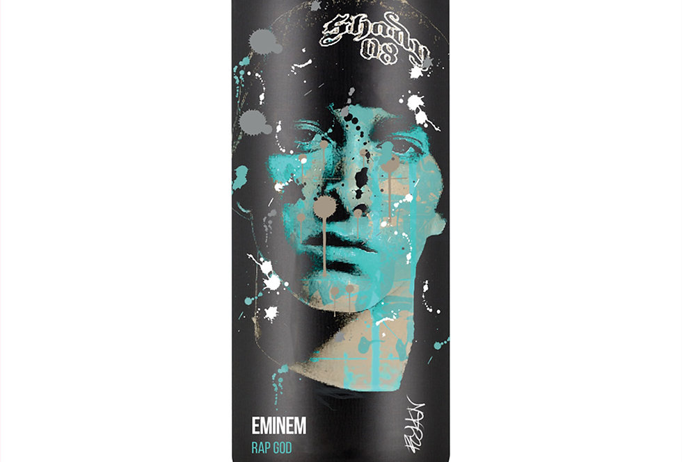 Eminem Hip-Hop Spray Can Art Print