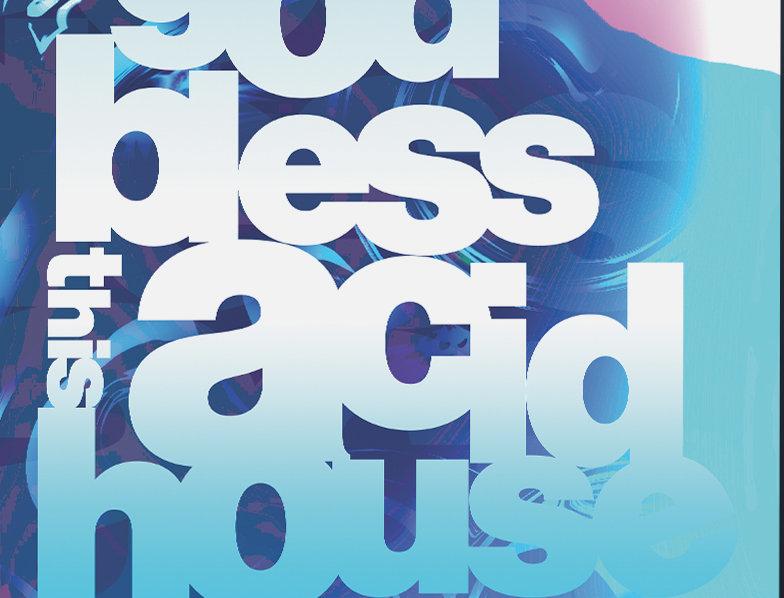 God Bless This Acid House Kasabian Album Grunge Poster Art Print
