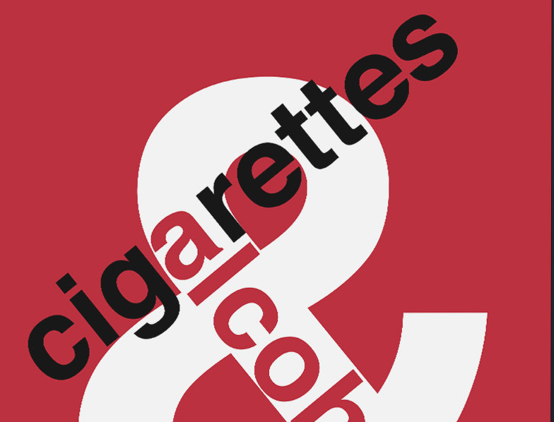 Oasis Cigarettes & Alcohol Swiss Poster Art Print